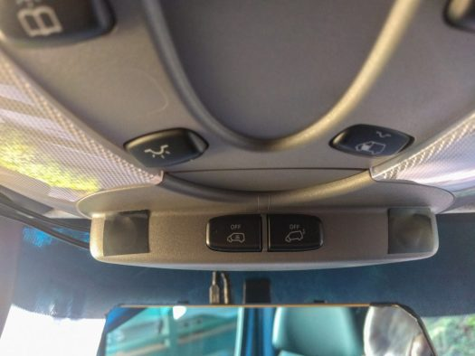 Sprinter alarm sensors and buttons