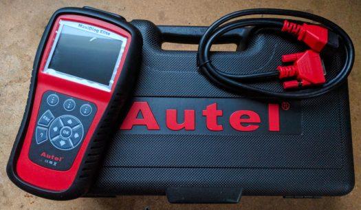 Autel MaxiDiag Elite 802 OBDII code reader