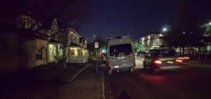 Overnight city parking - urban camping
