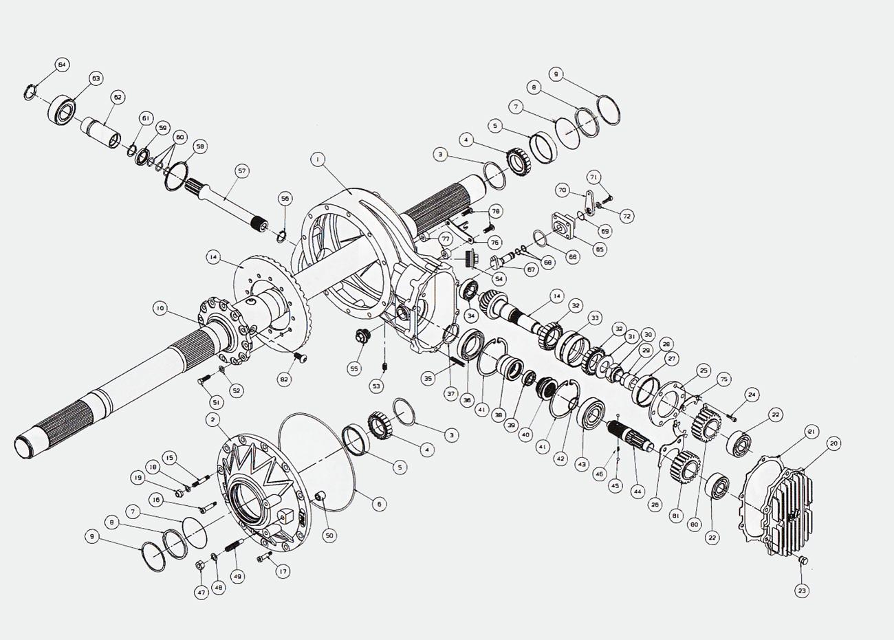 Sprint Car Quick Change Parts