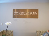 Wingert Grebing Reception