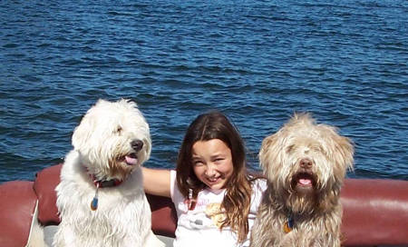 6556-Summer_07_Lindsey_w_dogs_on_lake_crop