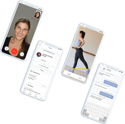 Sprite health virtual PT member view