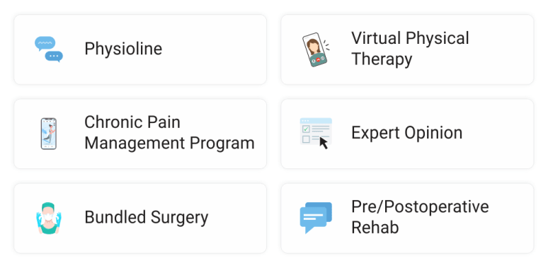 The most complete digital solution for pain management