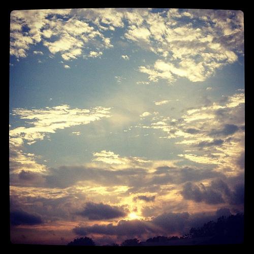 Good night... #iphonetx #sunset #igtexas #sky #clouds