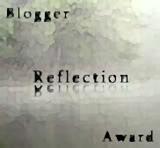 Blogger Reflection Award Icon