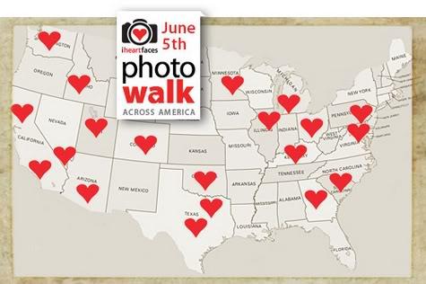 I Heart Faces Photo Walk Map