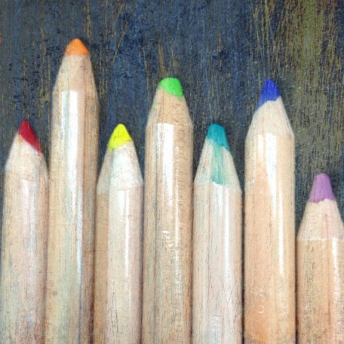 Colored Pencils #art #pencils #colors #rainbow #InstaEffectFX