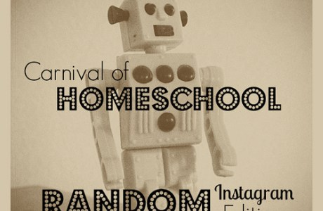 Carnival of Homeschooling : Random Instagram Edition (plus mobile photography tips)