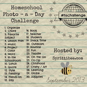 Homeschool Instagram Photo-a-Day Challenge : September 2013
