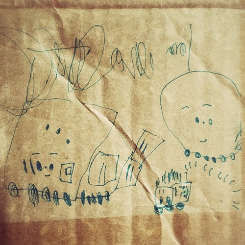 Koko's trains. Moving box art. Sprittibee's Perfecting Preschool Series activity list.