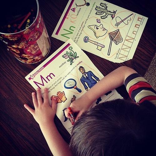 Cuz he's a #preschool coolie. #A+