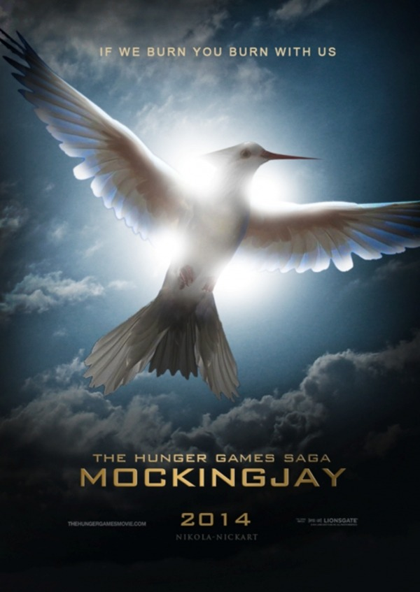 Mocking Jay Hunger Games Saga Poster