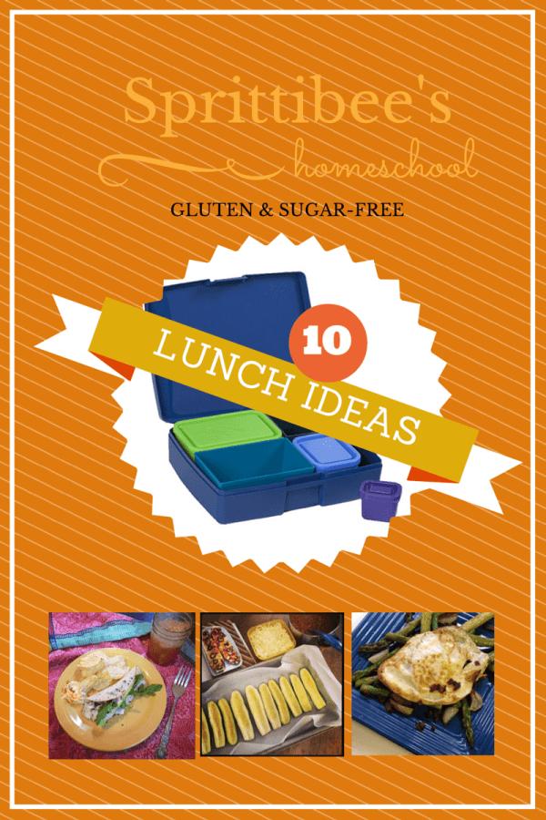 Gluten & Sugar Free Lunch Ideas