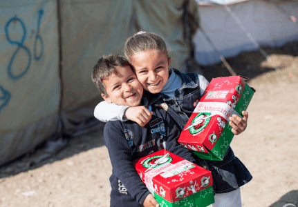 Teaching Kids to Care for Those Who are Less Fortunate: Operation Christmas Child