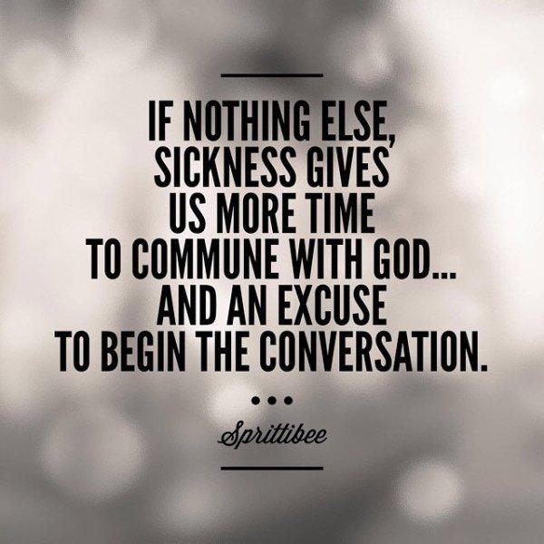 Wisdom for the Sick