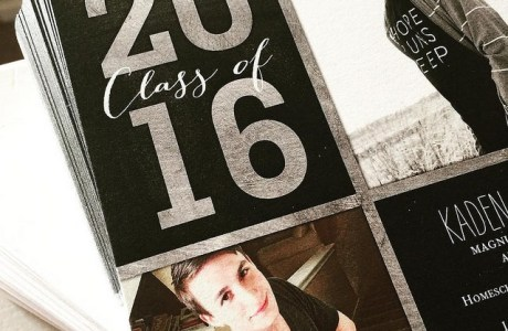 Graduation Invitations for the Stressed Out Homeschool Mom