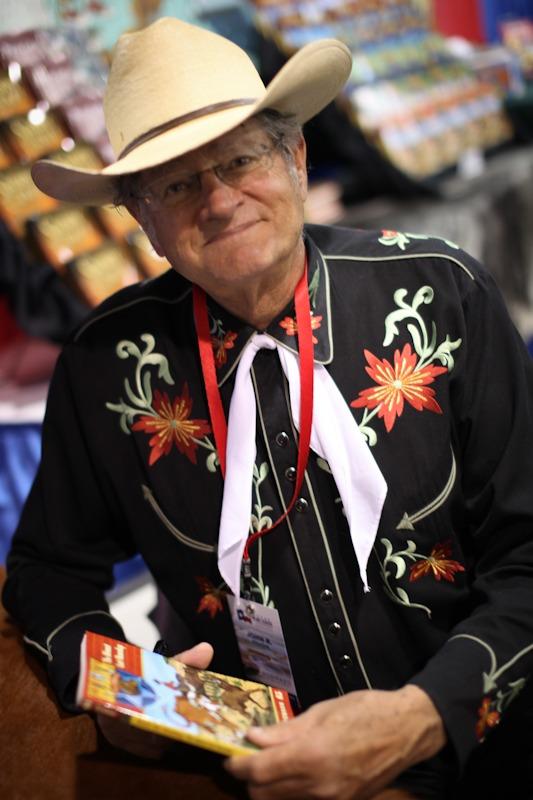 John Erickson - Hank the Cowdog Author - at THSC