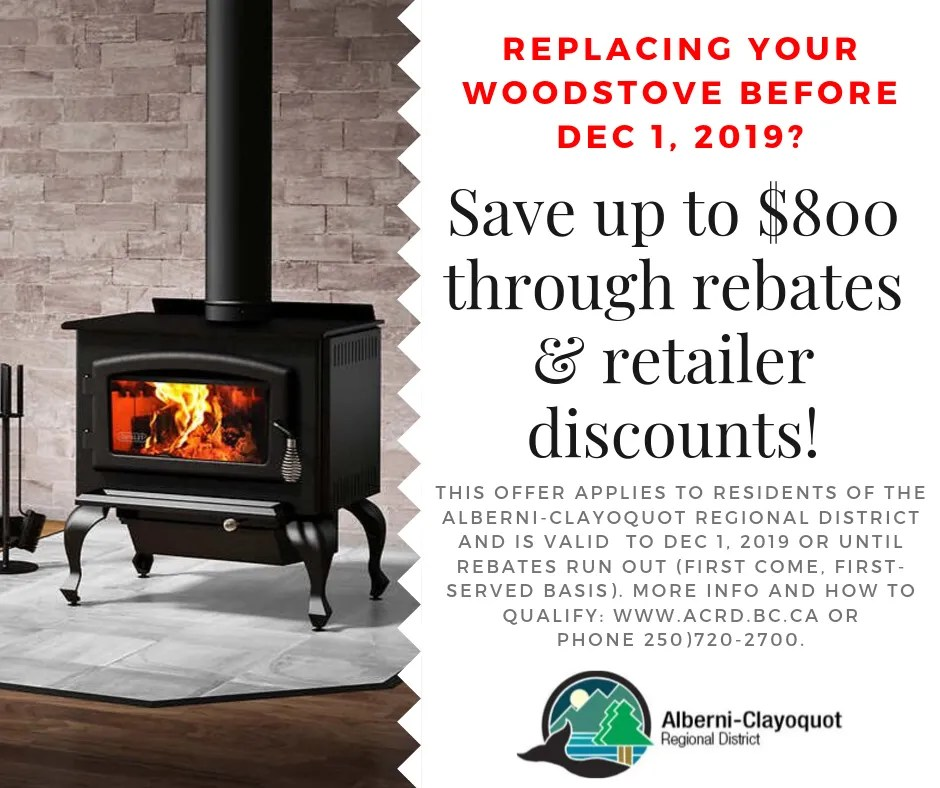 Wood Stove Rebate