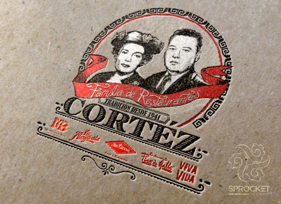 Cortez Family Logo Design