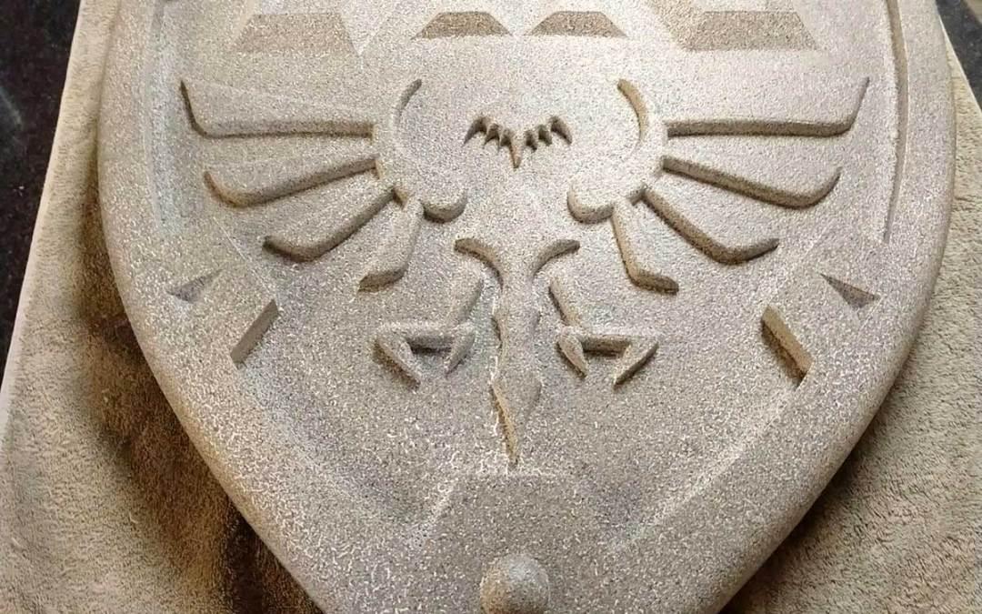 Zelda Shield by Mark Poole
