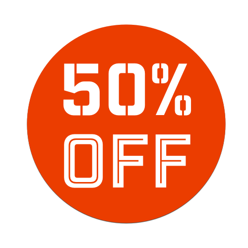 50%OFF - Red Tag