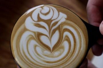 Latte Art Rose