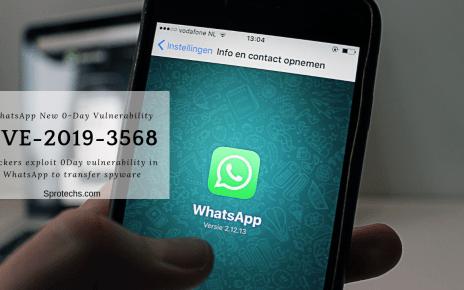 Hackers exploit 0Day vulnerability in WhatsApp to transfer spyware | CVE-2019-3568