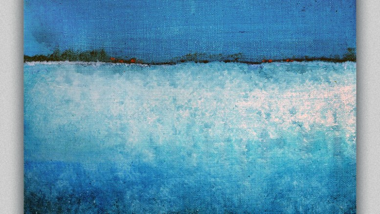 new work ocean themed abstracts