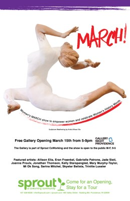 The Gallery at Sprout CoWorking presents March!