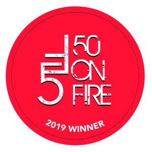 Rhode Island Inno's Second-Annual 50 on Fire Award Winner