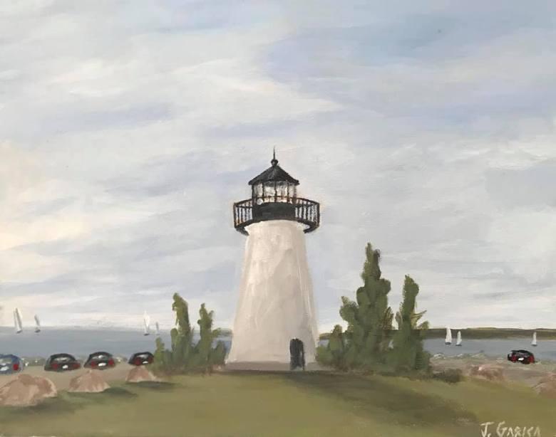 Jonathan Garcia lighthouse painting