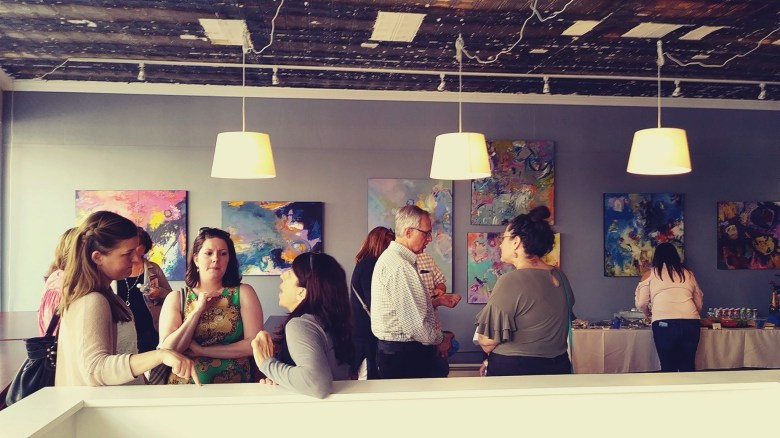 sprout coworking warre ri main street art opening
