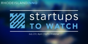 RI Inno State of Innovation: Startups to Watch 2020 @ Virtual Event