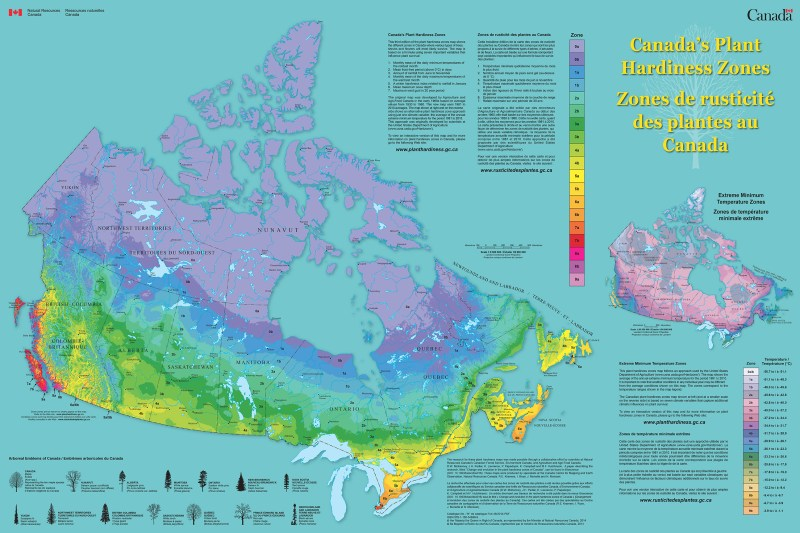 Canadian Plant Hardiness Zones