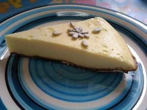 いつものチーズケーキ