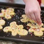 娘と久しぶりにクッキー作り