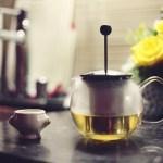 オーガニックの緑茶(ココナツ風味)