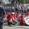 小学校で再度ストライキ