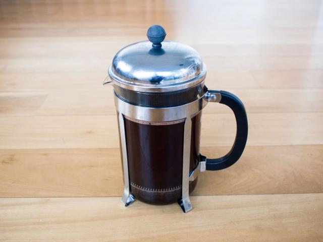 9歳の娘が作ってくれたフレンチプレスコーヒーは、私の予想をはるかに超えていました