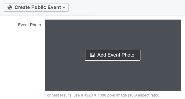 Facebook Events Photo Size