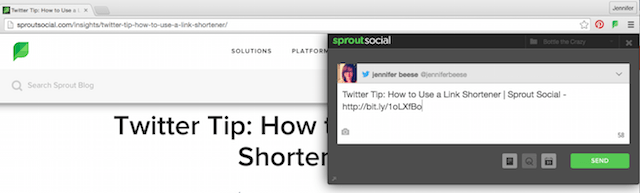 Sprout Social Bitly