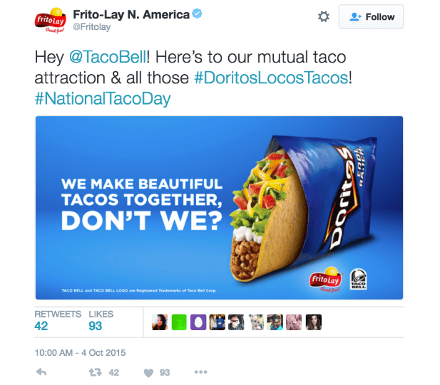 taco bell co-marketing