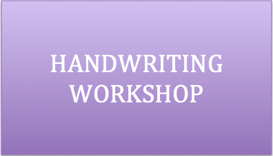 Handwriting Workshop therapy services