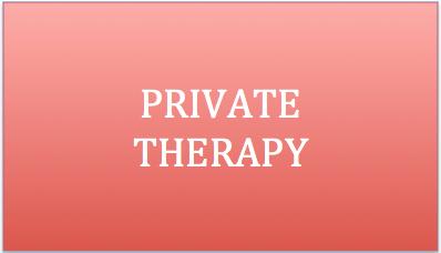 Private Therapy services