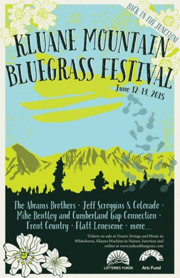 Kluane Mountain Bluegrass Festival poster