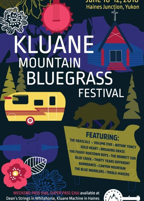Kluane Mountain Bluegrass Festival 2016
