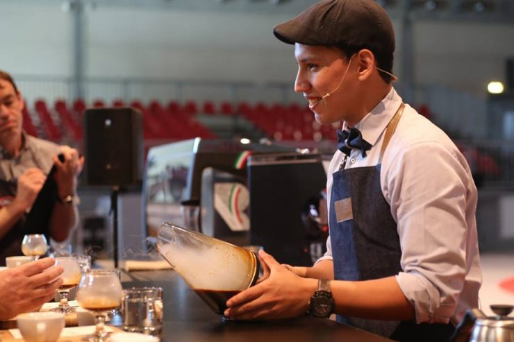 Barista Champion of El Salvador, William Hernandez