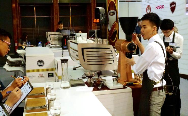 Hong Kong Coffee Championships-2014HKbarista