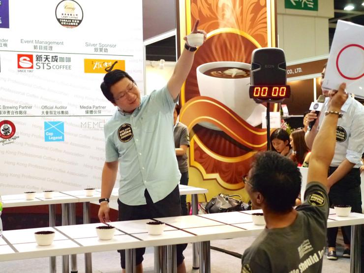 Hong Kong Coffee Championships-2014HKcuptaster